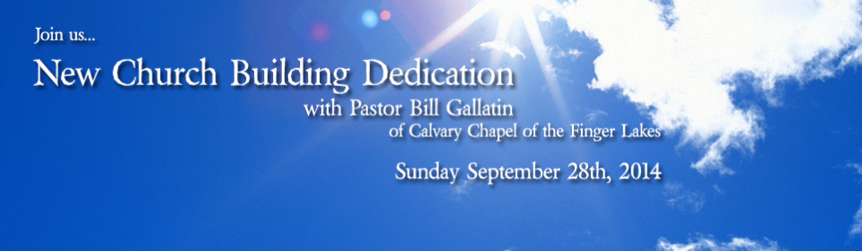 New Church Building Dedication