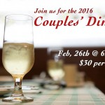 Are you coming to the Couples' Dinner?